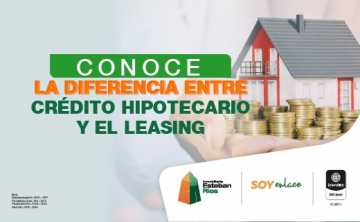 El leasing y su diferencia con un crédito hipotecario
